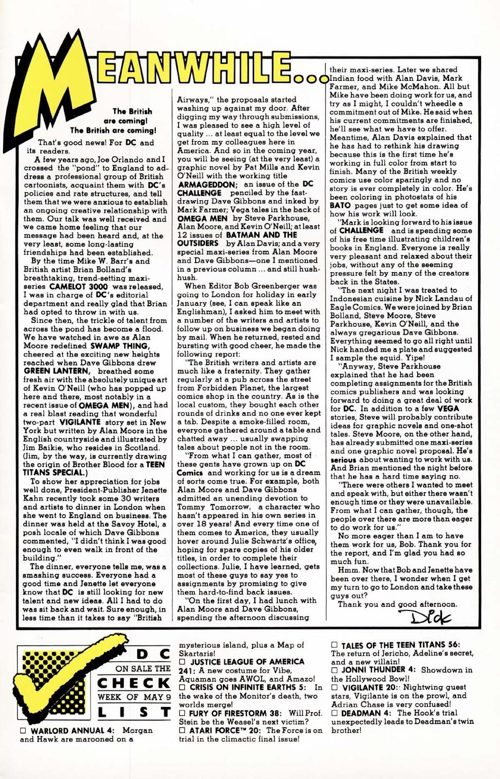 Vigilante (1983) issue 20 - Page 26
