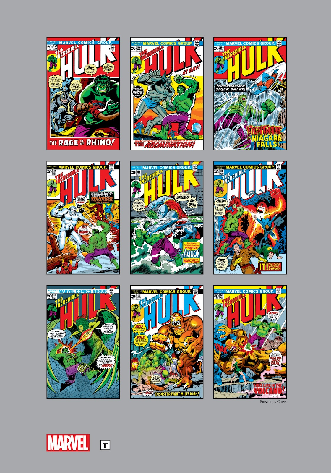 Read online Marvel Masterworks: The Incredible Hulk comic -  Issue # TPB 9 (Part 3) - 104