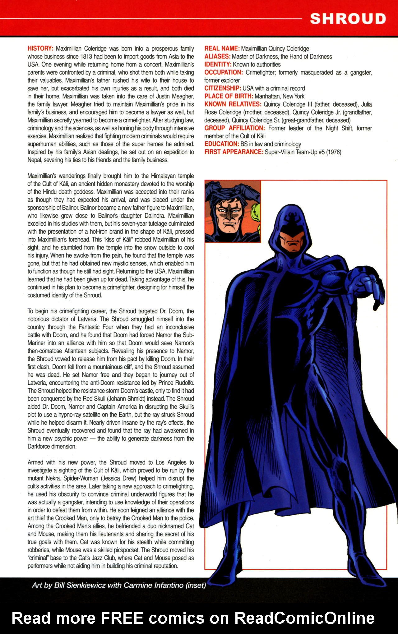 Read online All-New Official Handbook of the Marvel Universe A to Z: Update comic -  Issue #4 - 41