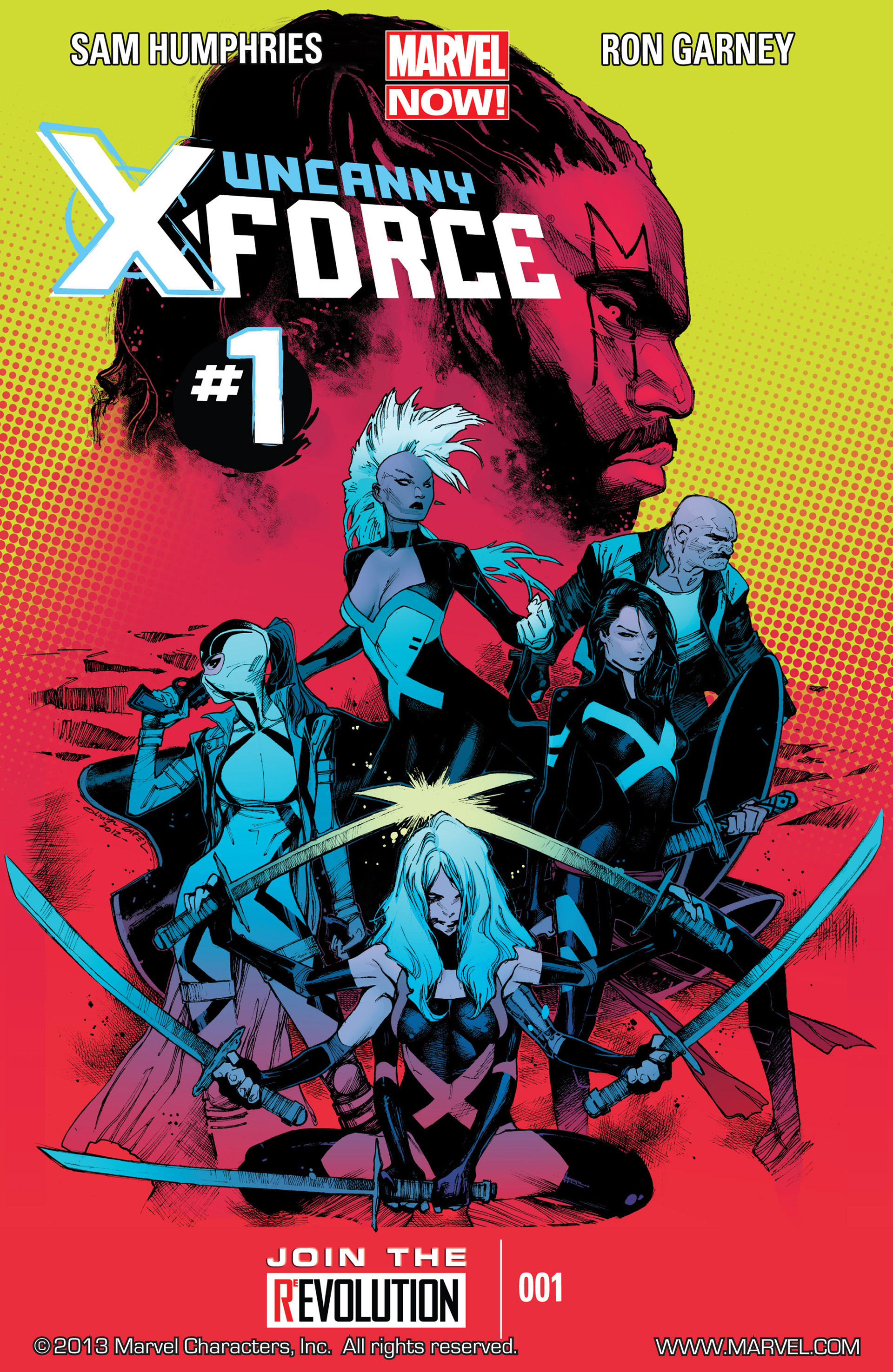 Read online Uncanny X-Force (2013) comic -  Issue #1 - 1