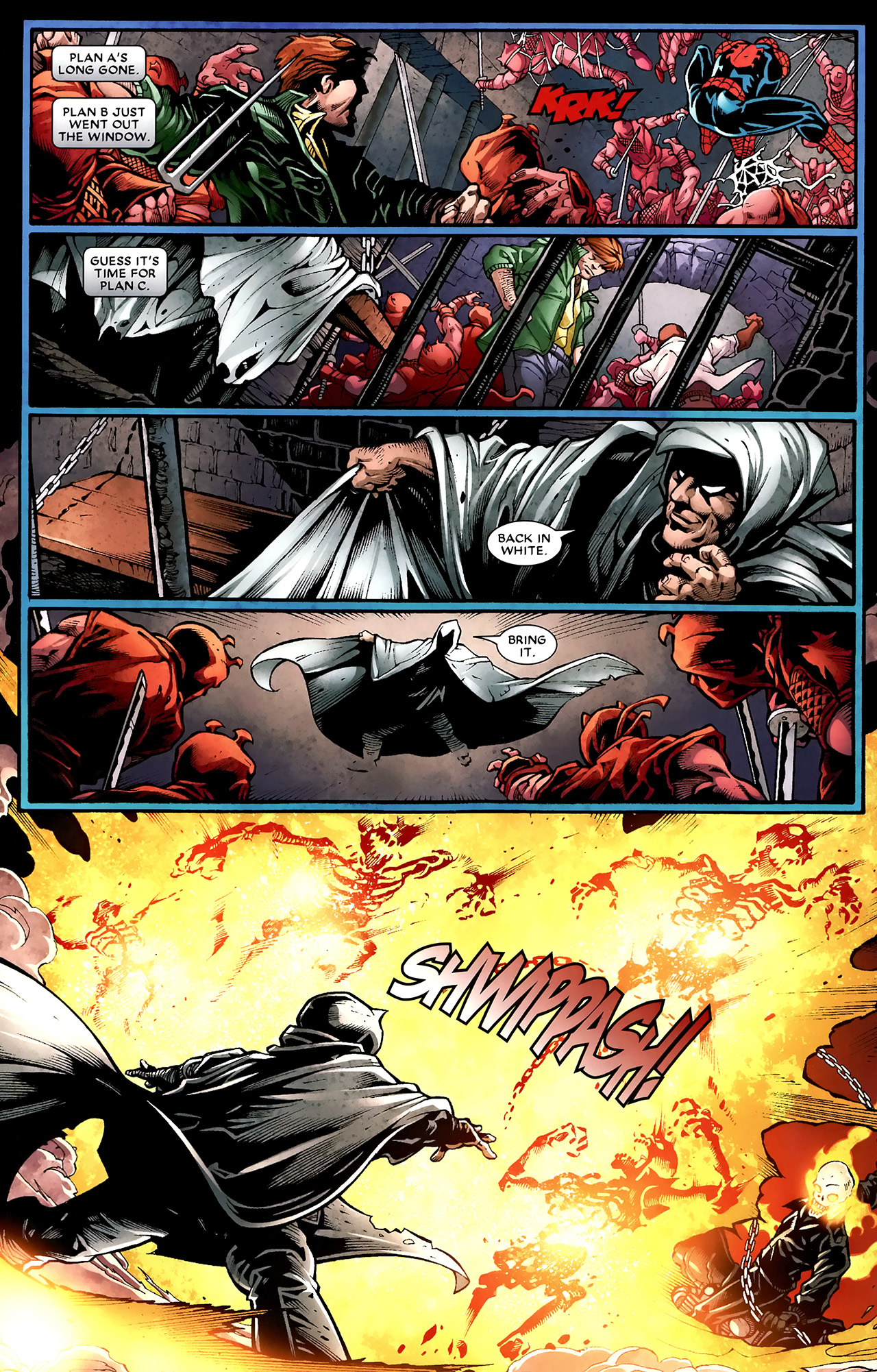 Read online Shadowland: Moon Knight comic -  Issue #2 - 4