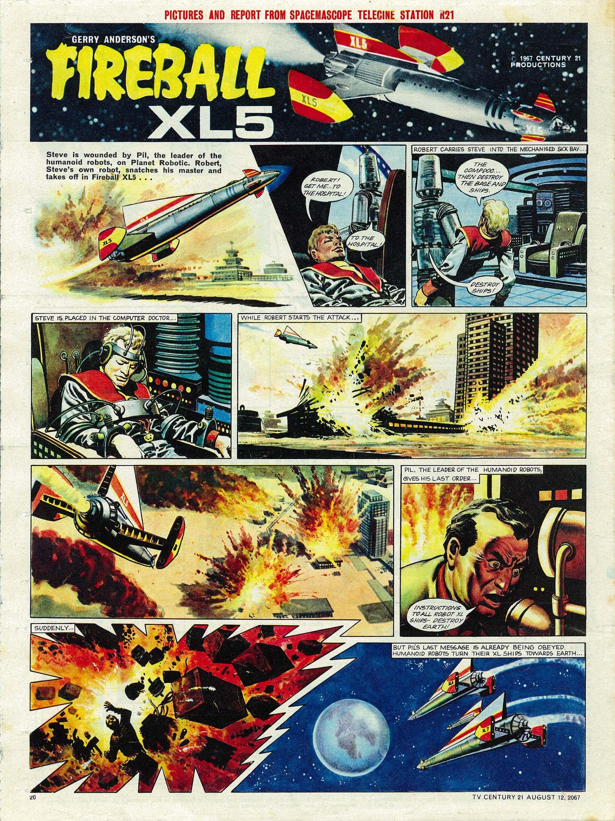 Read online TV Century 21 (TV 21) comic -  Issue #134 - 19
