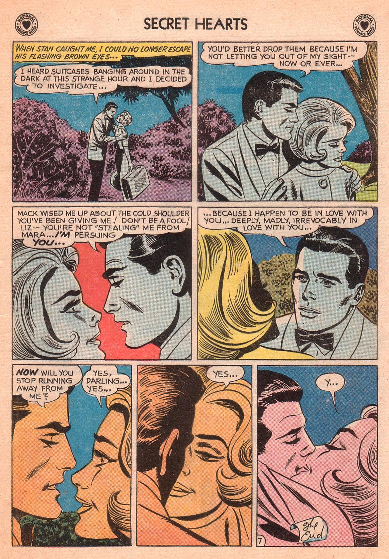 Read online Secret Hearts comic -  Issue #77 - 17