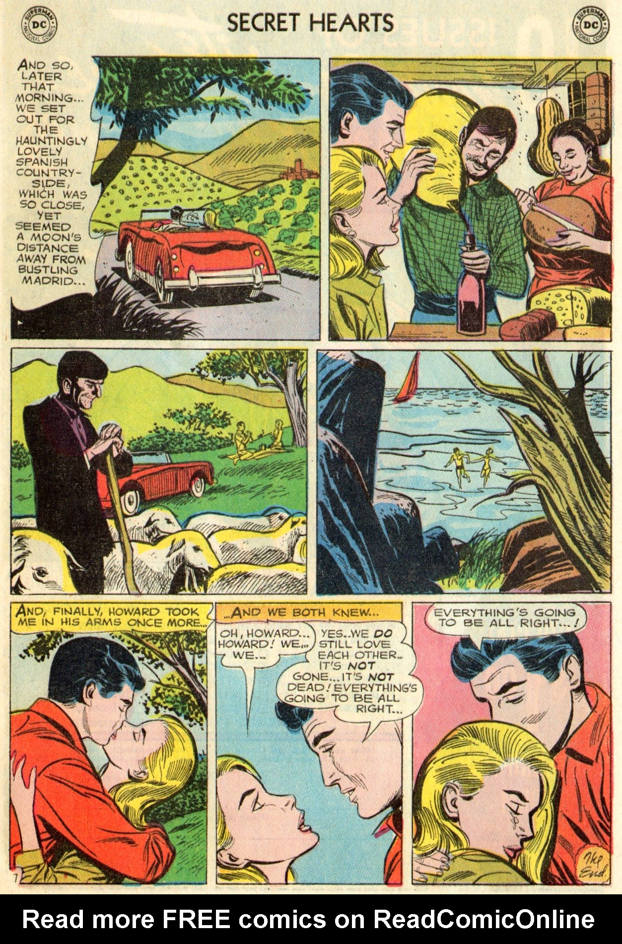 Read online Secret Hearts comic -  Issue #103 - 9