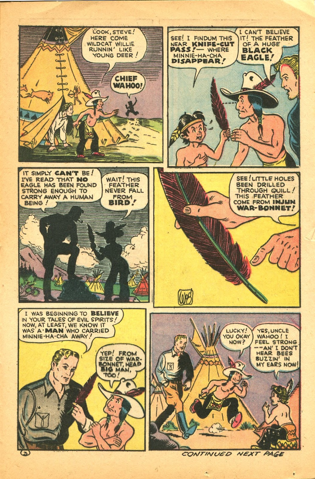 Read online Famous Funnies comic -  Issue #119 - 37