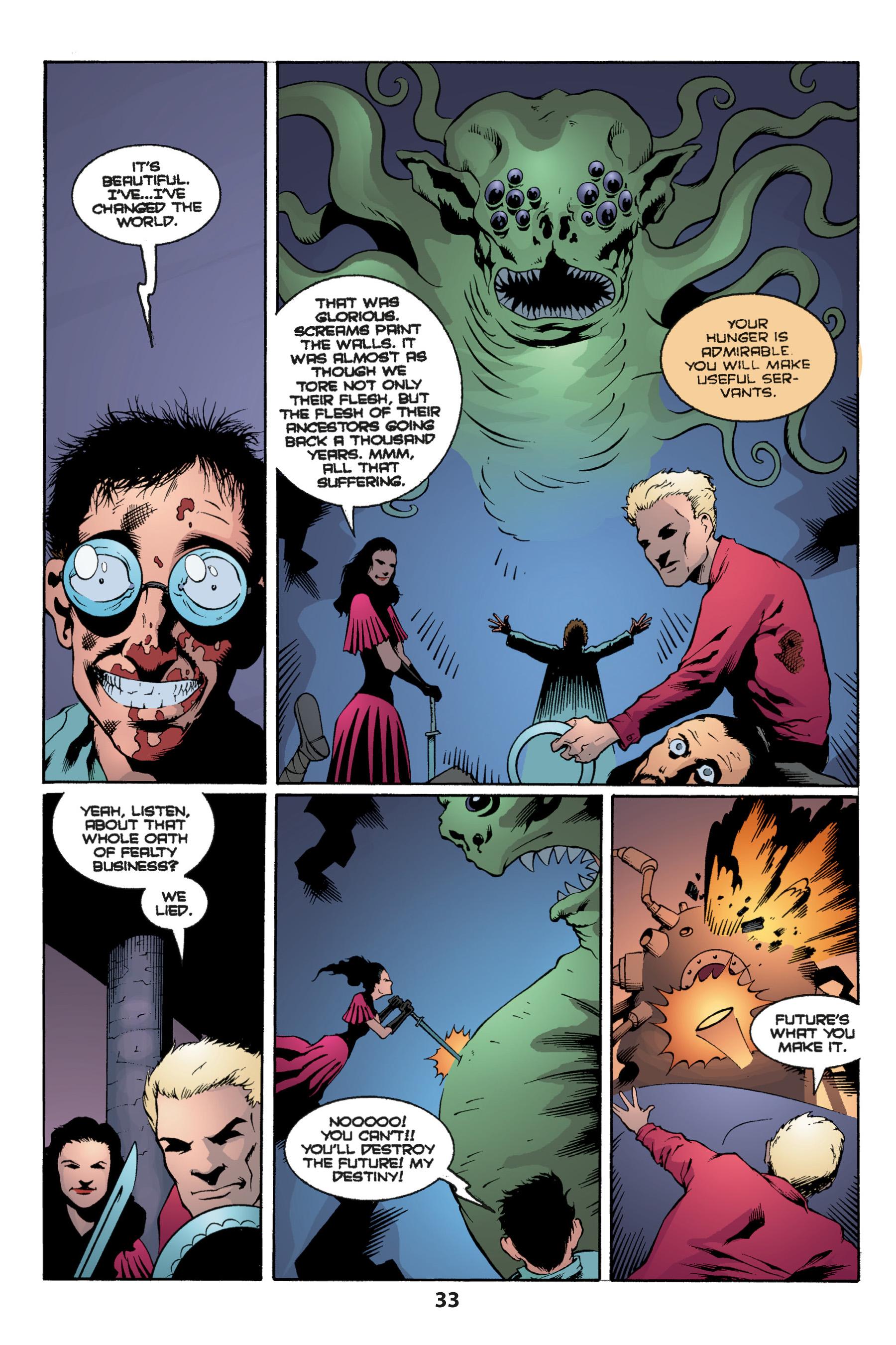 Read online Buffy the Vampire Slayer: Omnibus comic -  Issue # TPB 1 - 35