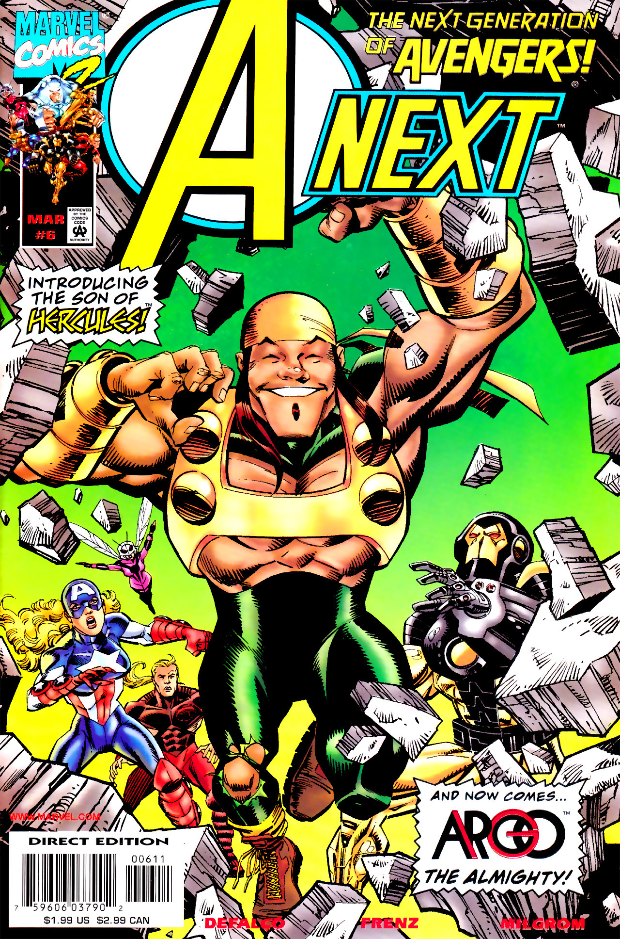 Read online A-Next comic -  Issue #6 - 1