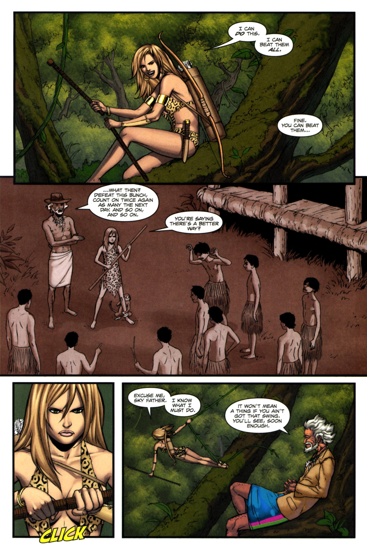Read online Sheena, Queen of the Jungle comic -  Issue #4 - 21