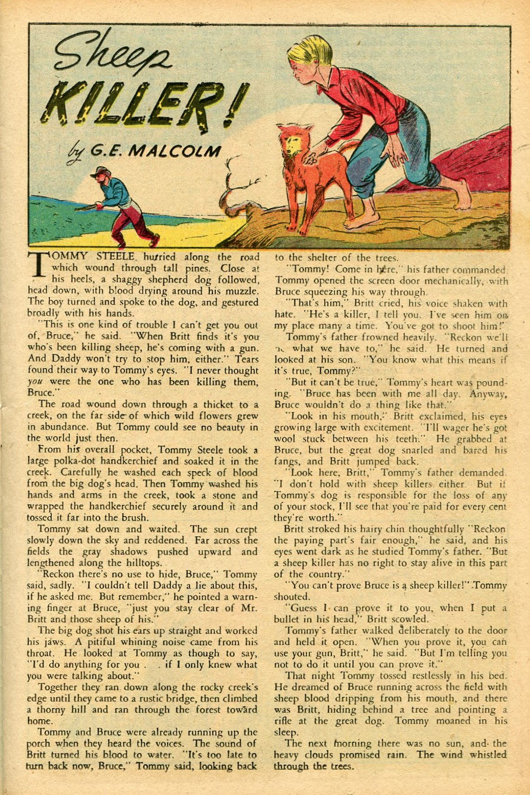 Read online Famous Funnies comic -  Issue #155 - 15