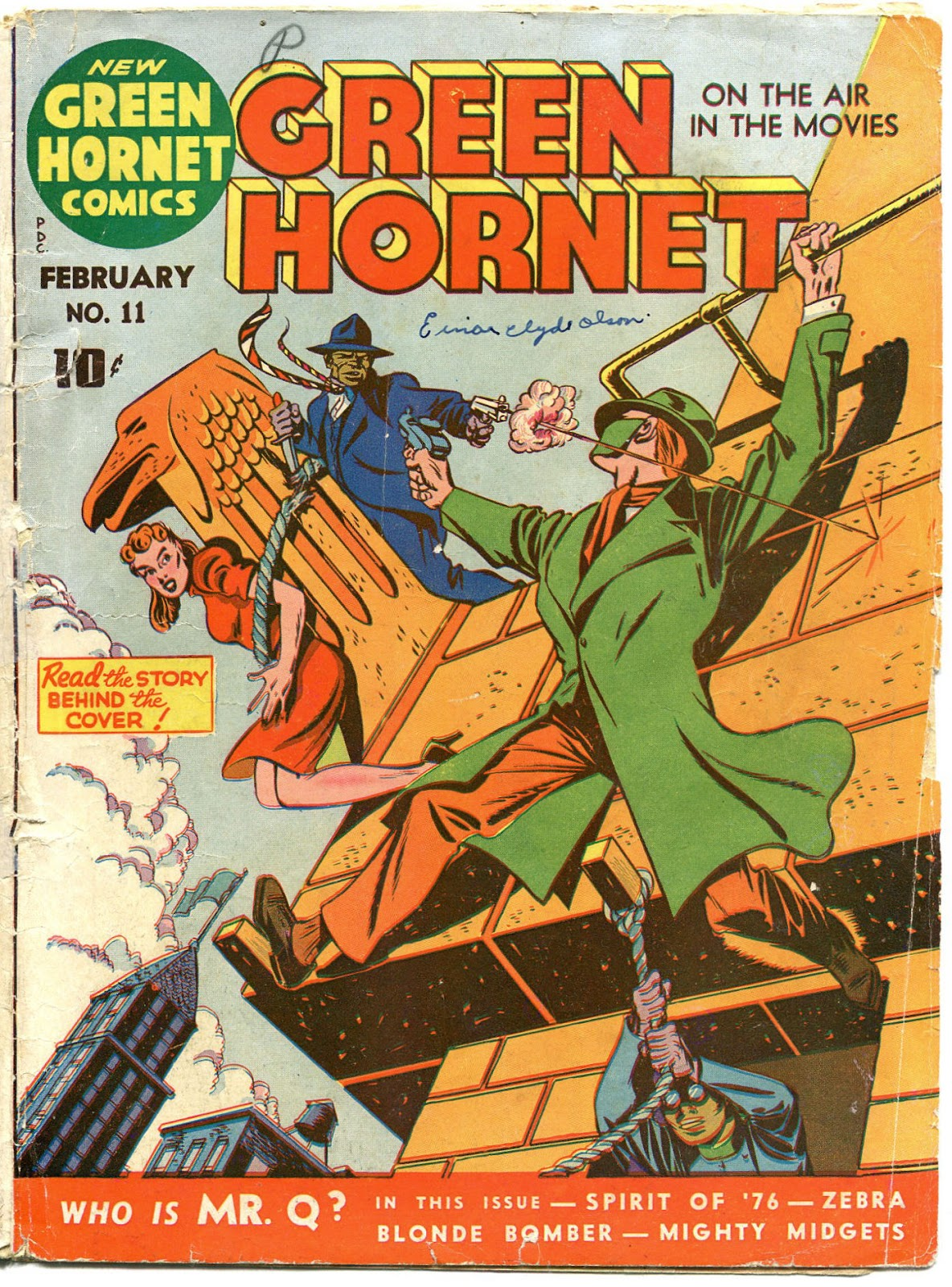 Green Hornet Comics issue 11 - Page 2