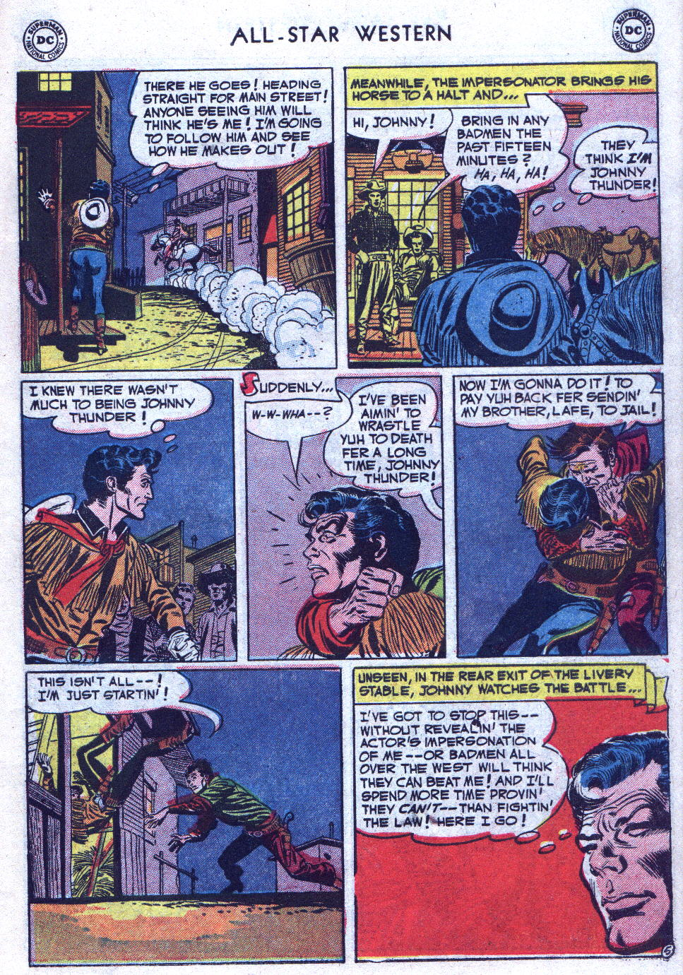 Read online All-Star Western (1951) comic -  Issue #69 - 31