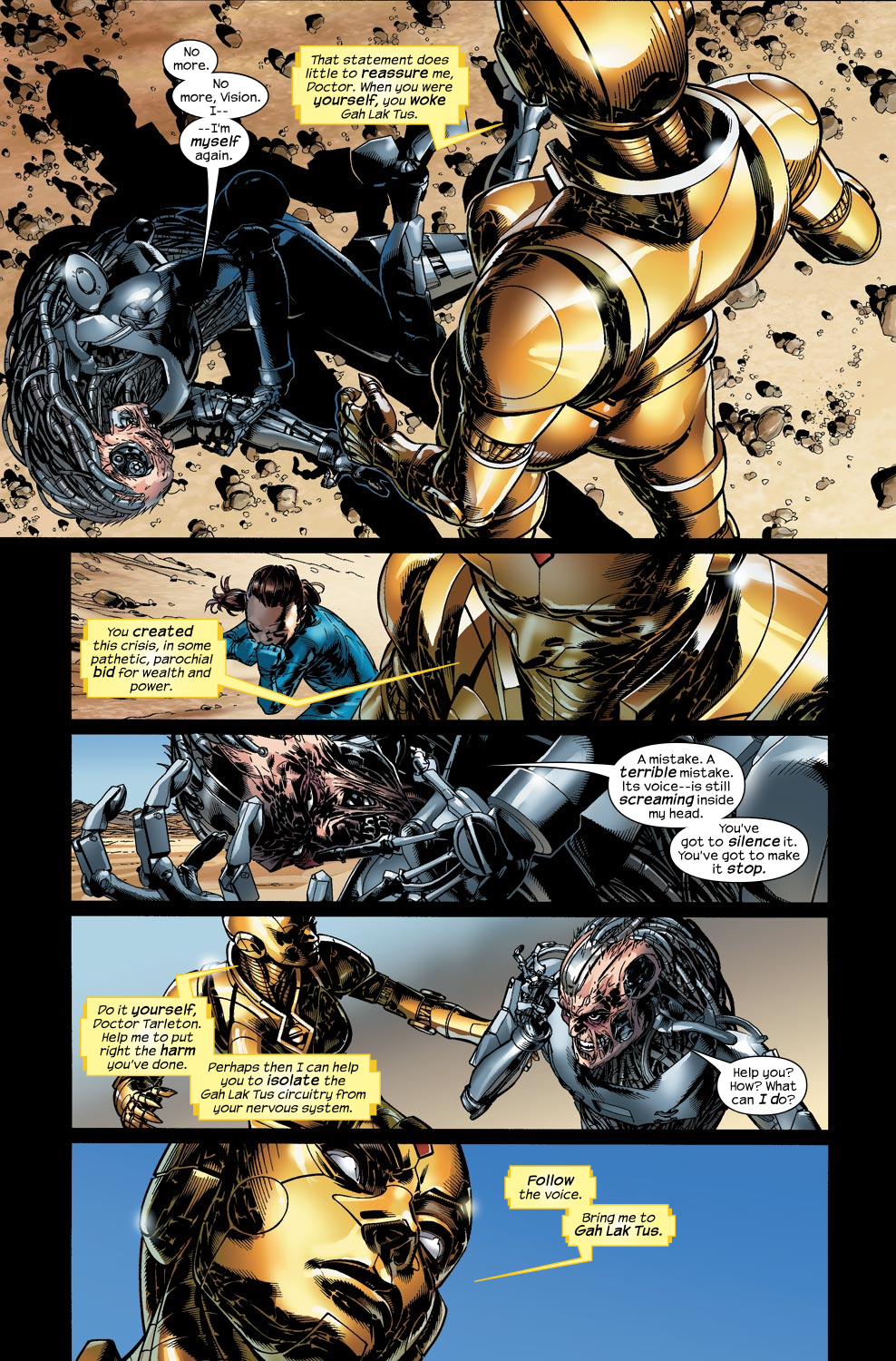 Read online Ultimate Vision comic -  Issue #4 - 15