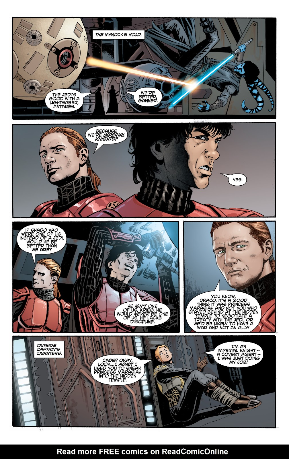 Read online Star Wars Legends: Legacy - Epic Collection comic -  Issue # TPB 2 (Part 3) - 2