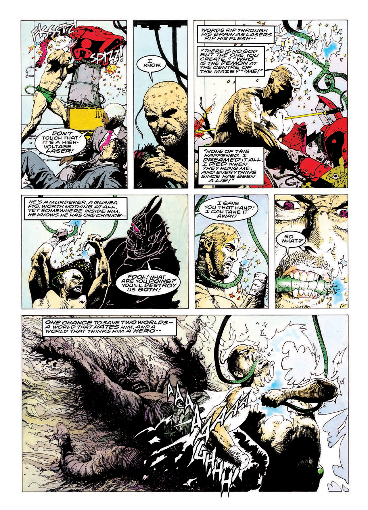 Read online Mazeworld comic -  Issue # TPB - 184