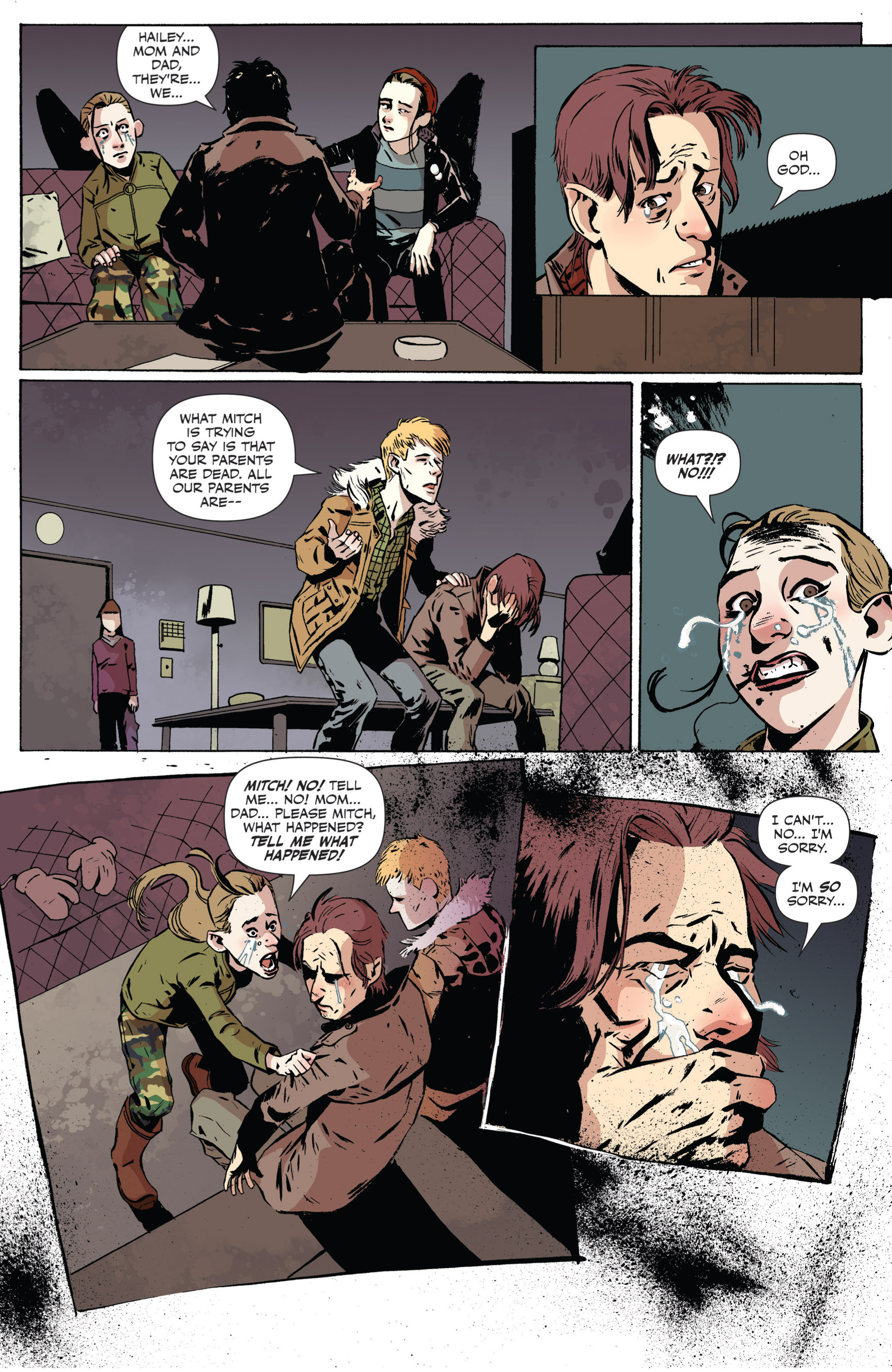 Read online Sheltered comic -  Issue #2 - 16