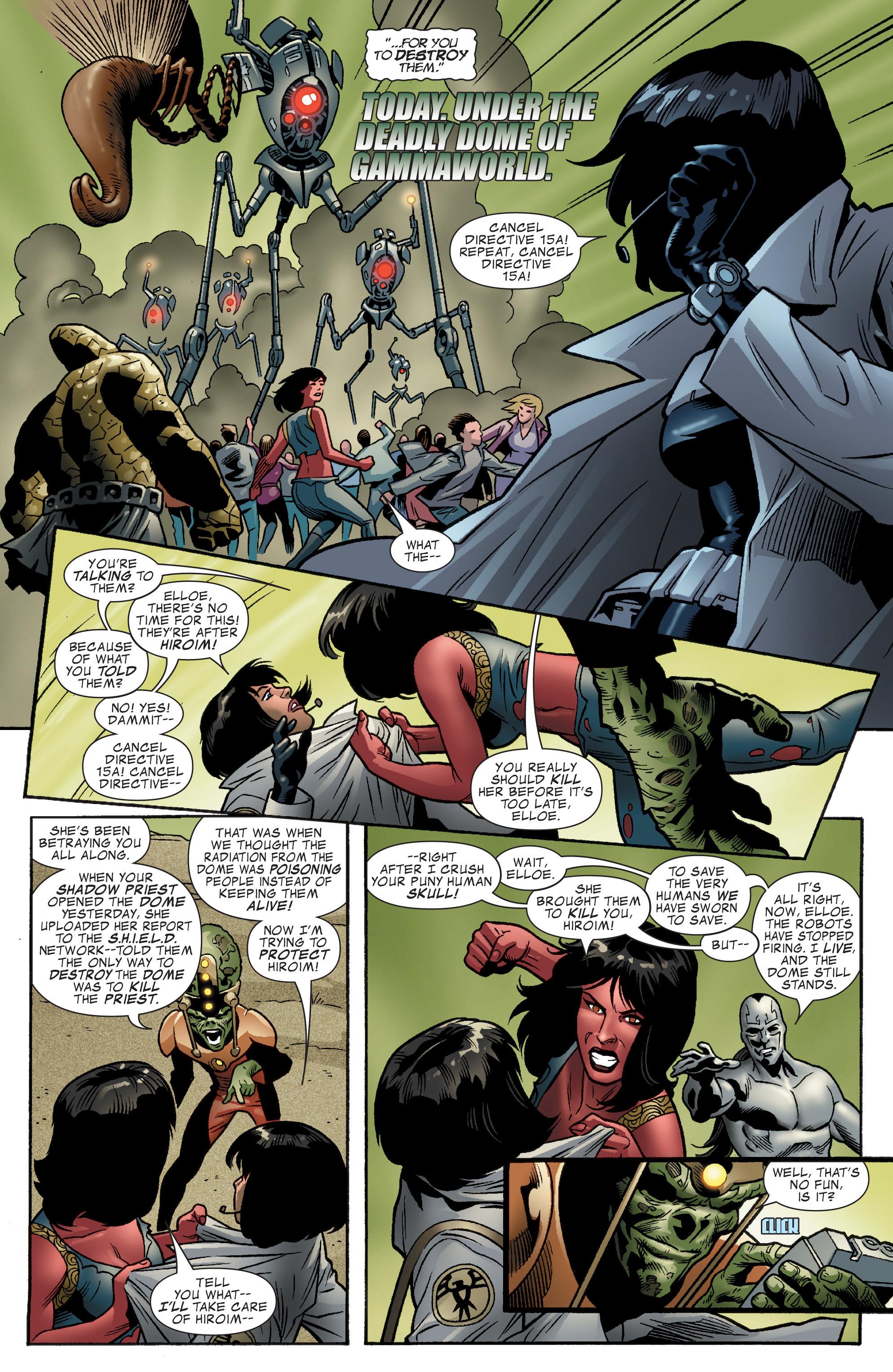 Read online World War Hulk Aftersmash: Warbound, Vol. 1 comic -  Issue #5 - 5