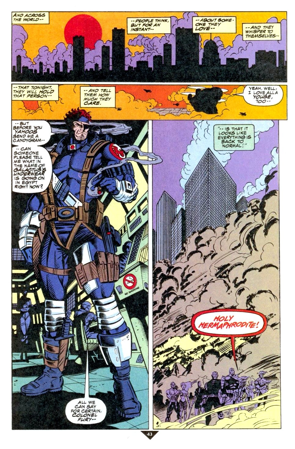 The New Warriors Issue #50 #54 - English 36