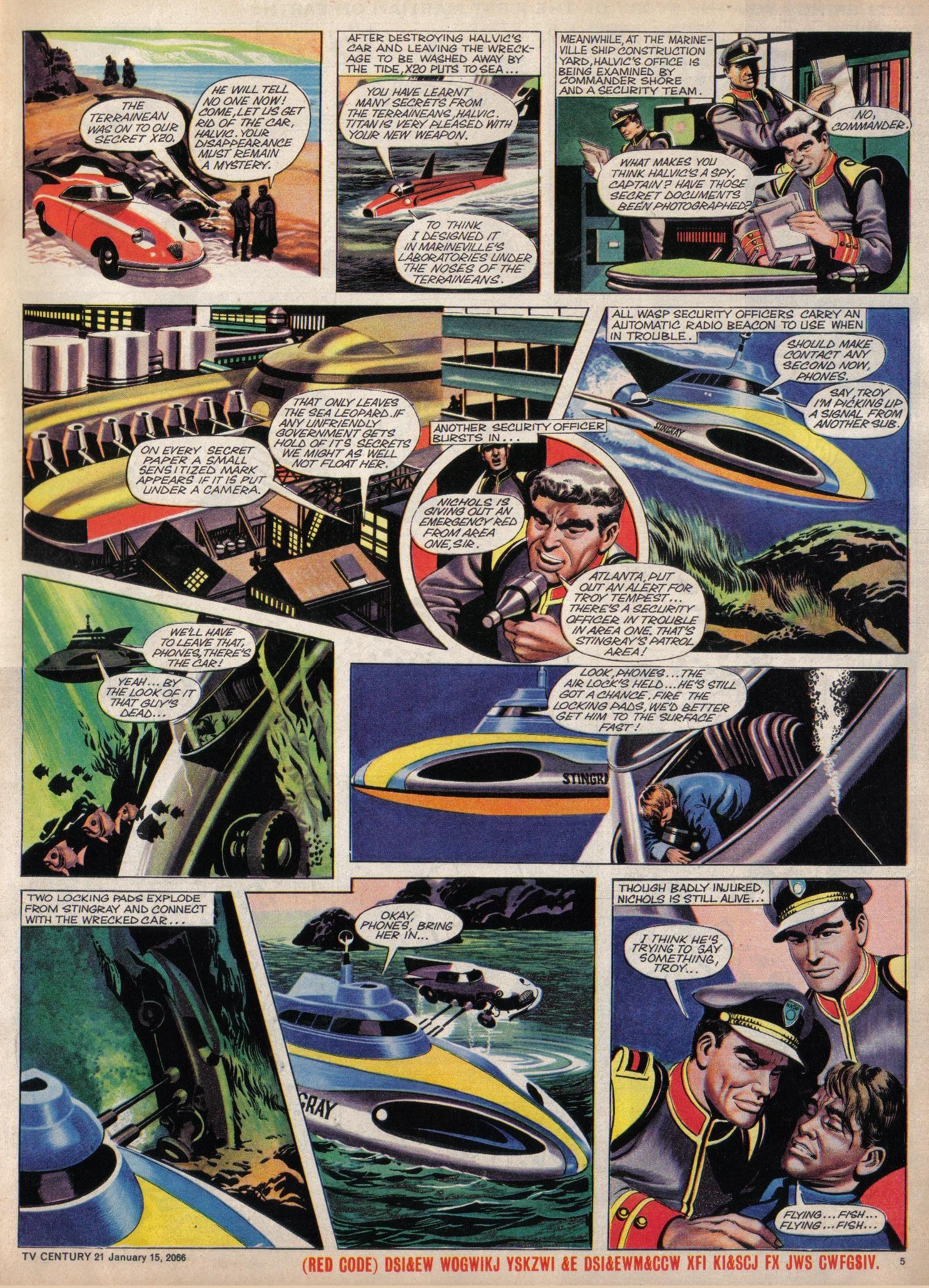 Read online TV Century 21 (TV 21) comic -  Issue #52 - 5