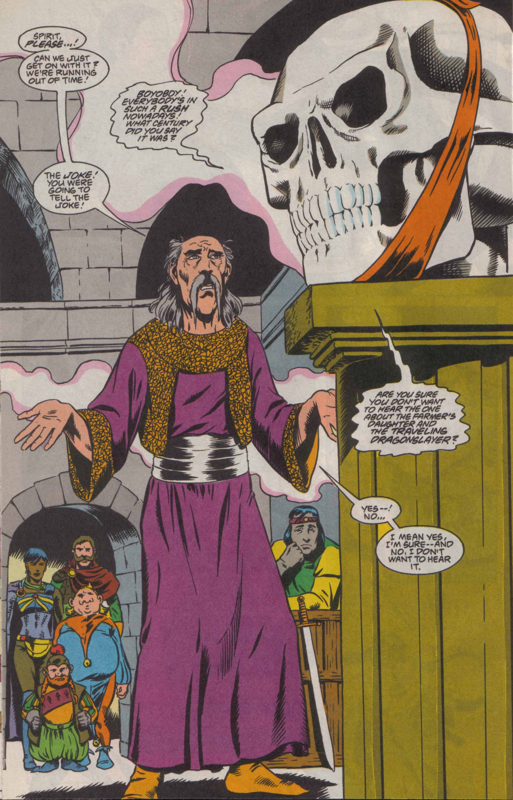 Read online Advanced Dungeons & Dragons comic -  Issue #8 - 15