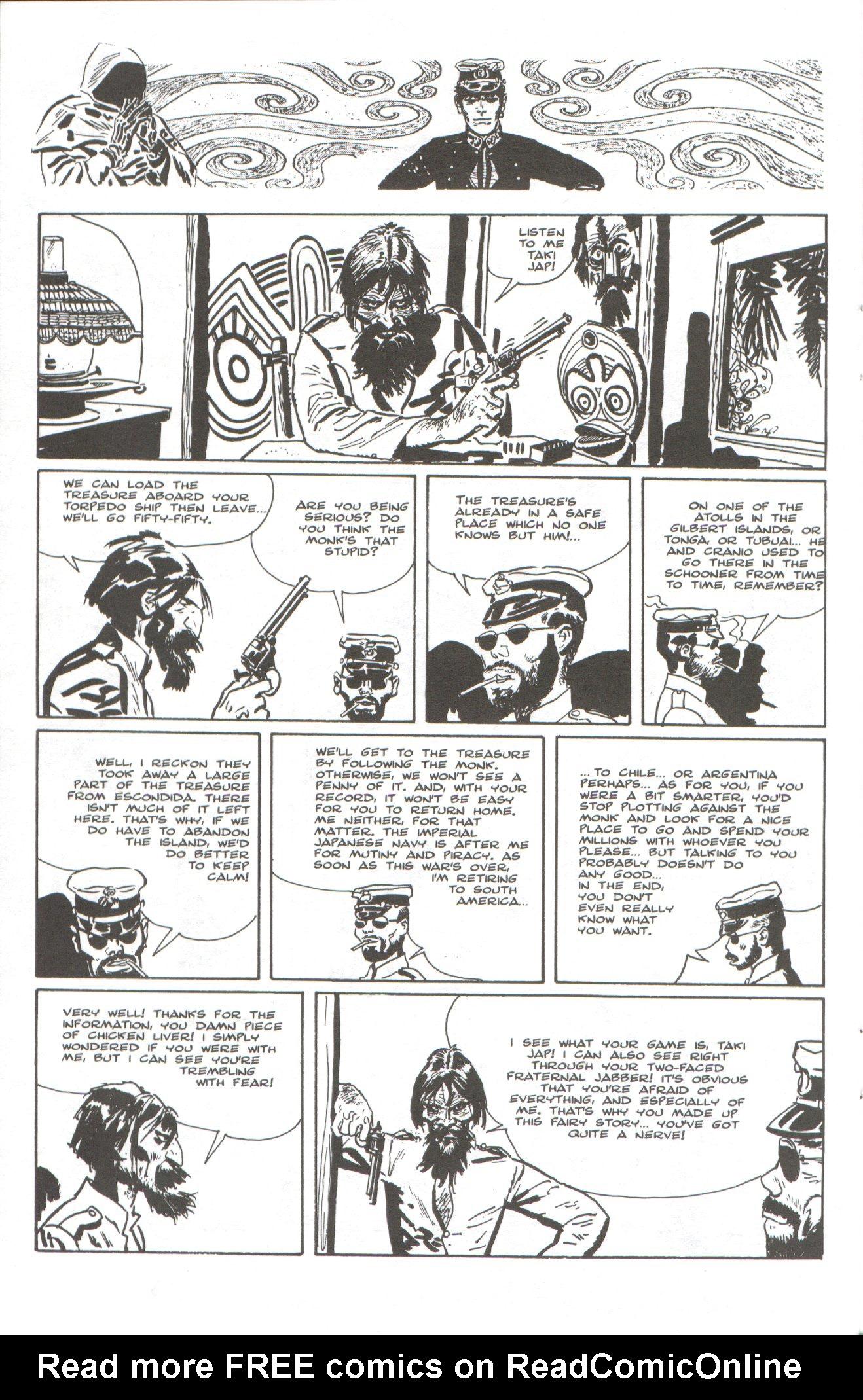 Read online Corto Maltese: Ballad of the Salt Sea comic -  Issue #6 - 16