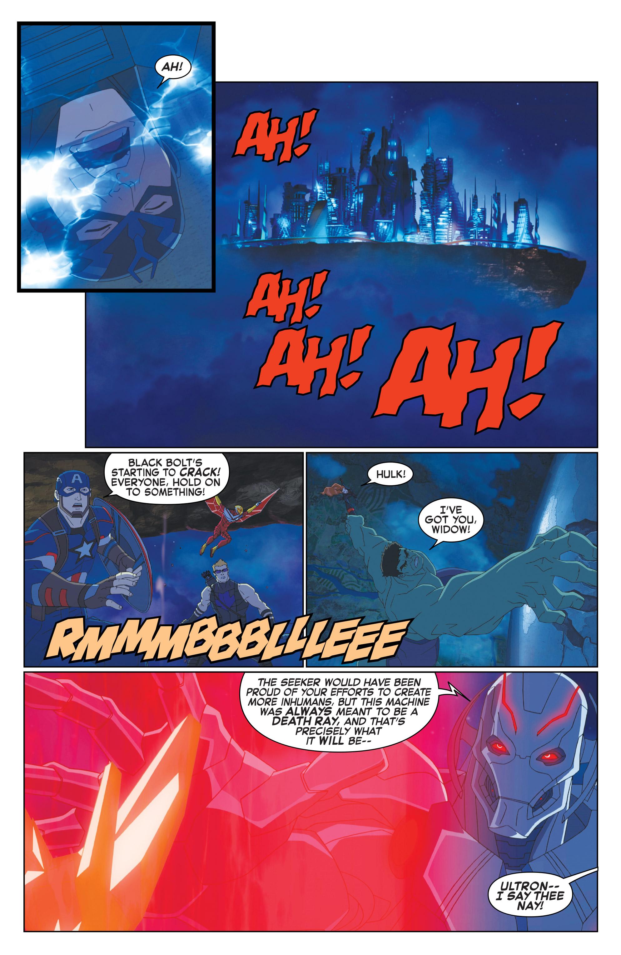 Read online Marvel Universe Avengers: Ultron Revolution comic -  Issue #10 - 18