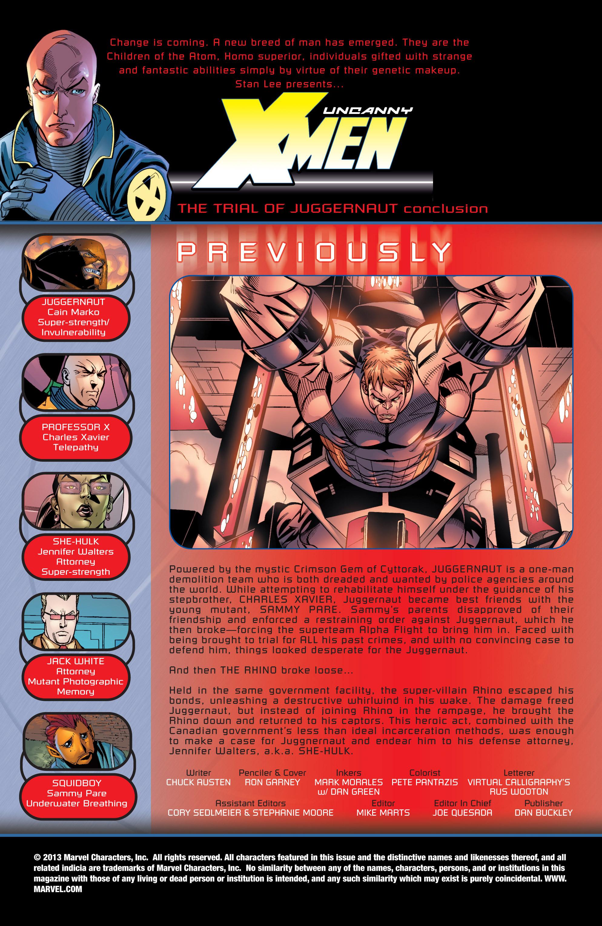Read online Uncanny X-Men (1963) comic -  Issue #436 - 2