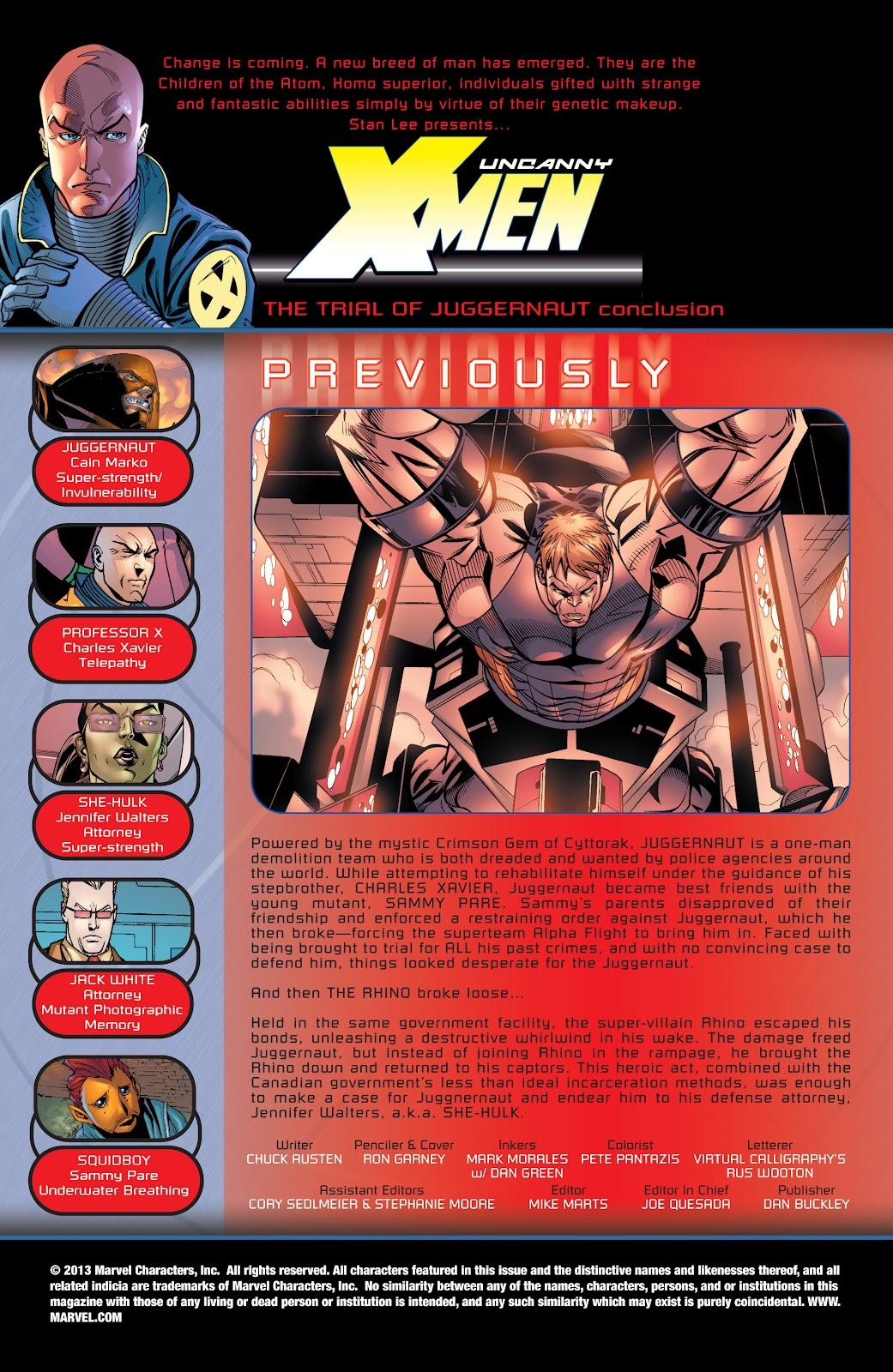 Uncanny X-Men (1963) issue 436 - Page 2