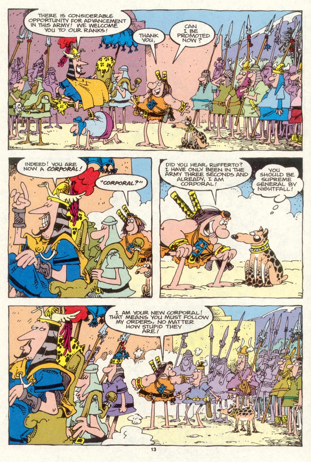 Read online Sergio Aragonés Groo the Wanderer comic -  Issue #87 - 14