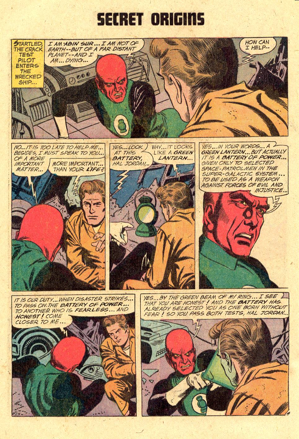 Read online Secret Origins (1973) comic -  Issue #2 - 16