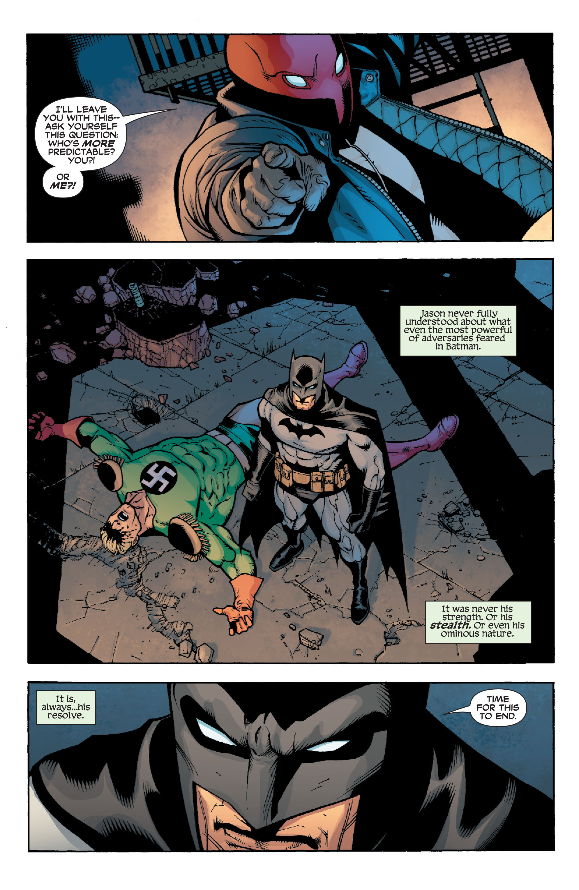 Read online Batman: Under The Red Hood comic -  Issue # Full - 244
