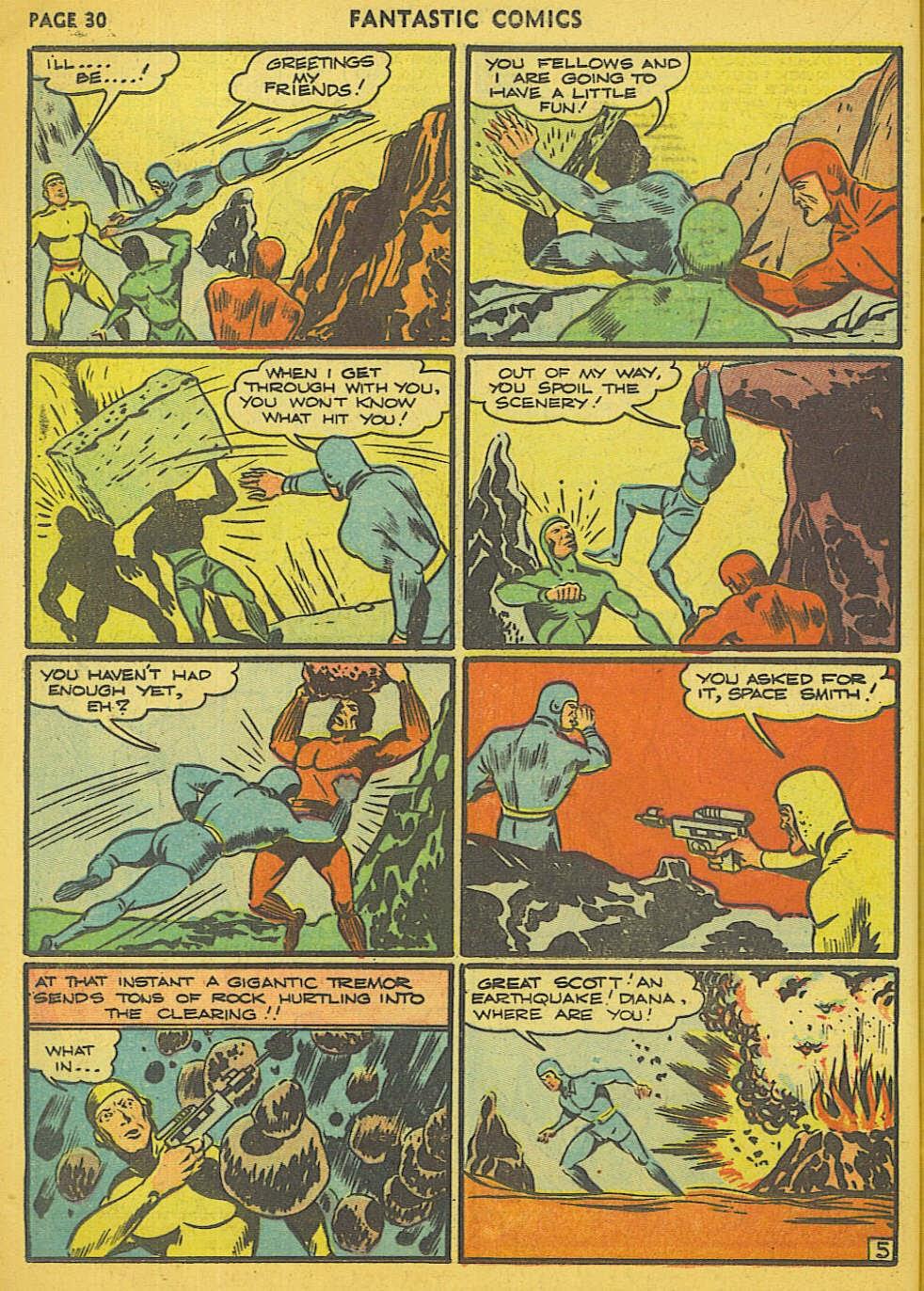 Read online Fantastic Comics comic -  Issue #15 - 25