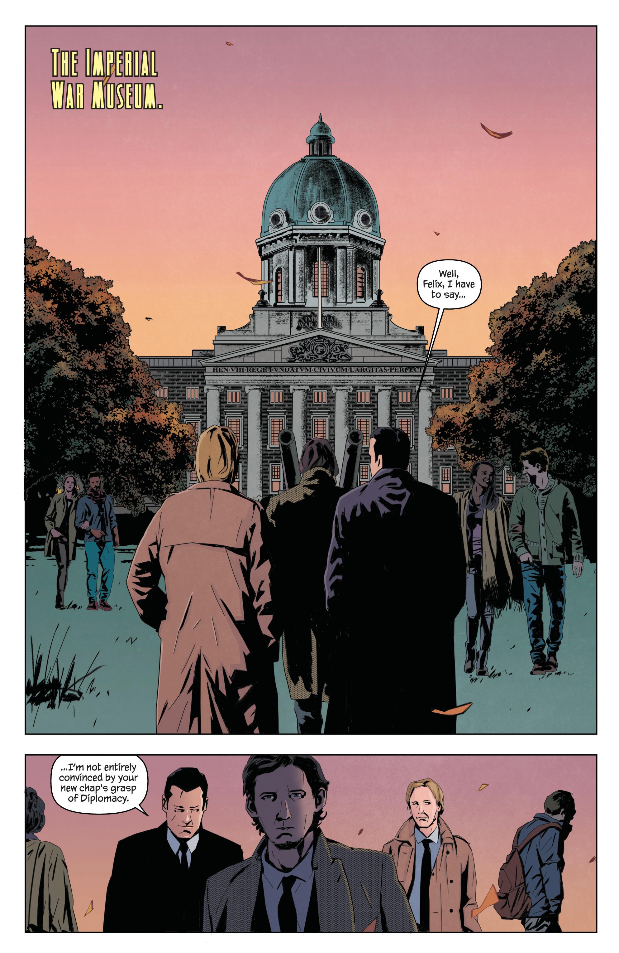 Read online James Bond: Service comic -  Issue # Full - 5