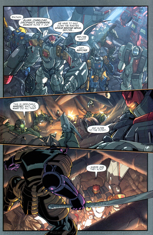 Read online Transformers Armada comic -  Issue #16 - 10