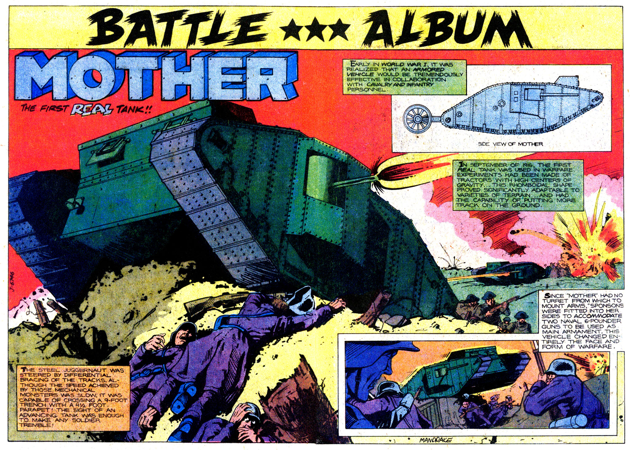 Read online Sgt. Rock comic -  Issue #349 - 20