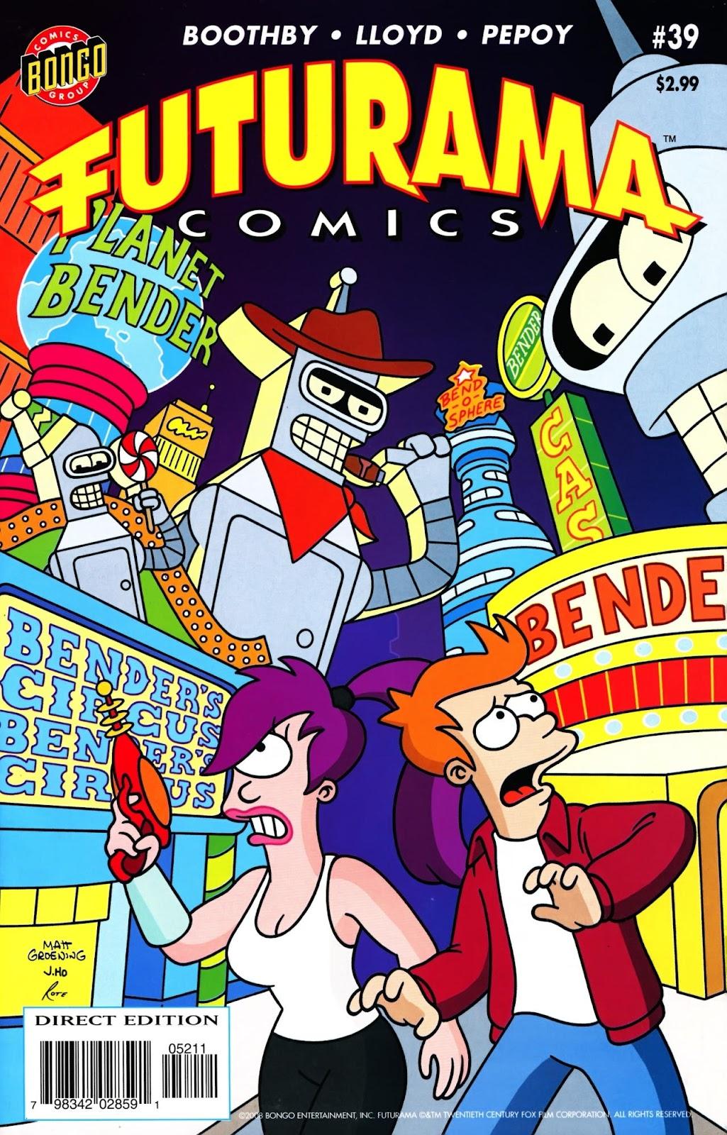Futurama Comics issue 39 - Page 1