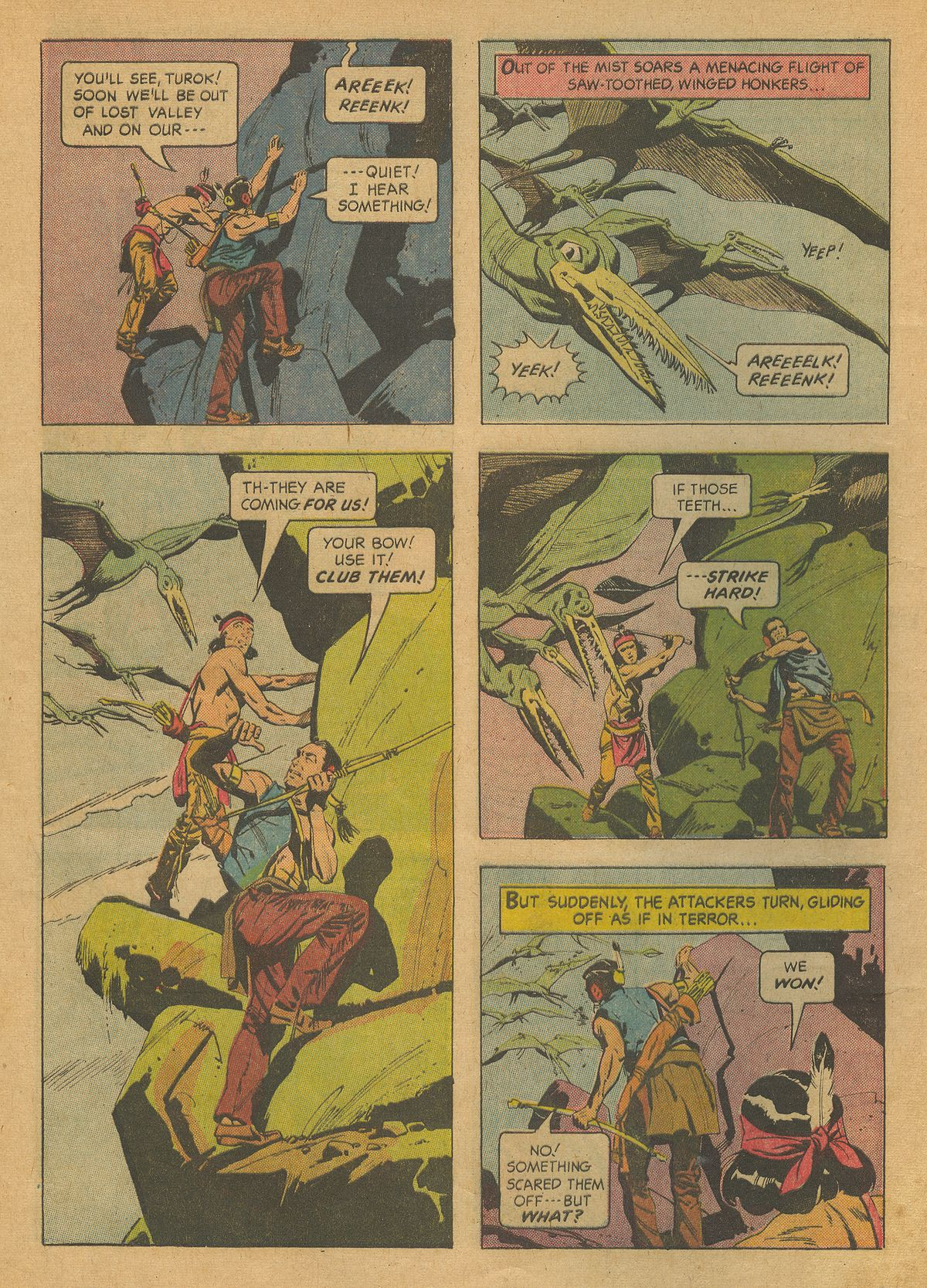 Read online Turok, Son of Stone comic -  Issue #37 - 8