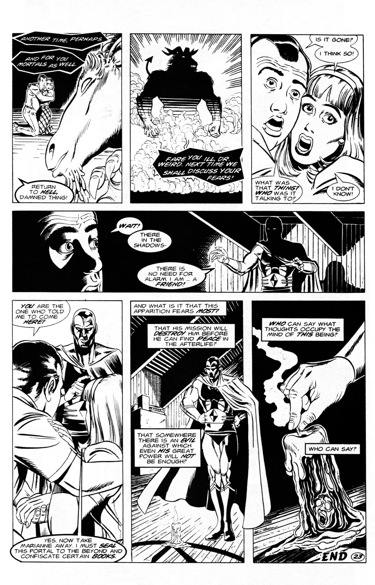 Read online Dr. Weird (1994) comic -  Issue #1 - 25