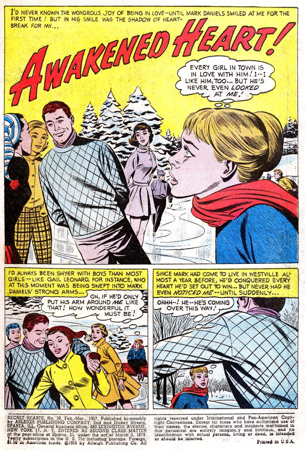 Read online Secret Hearts comic -  Issue #38 - 3
