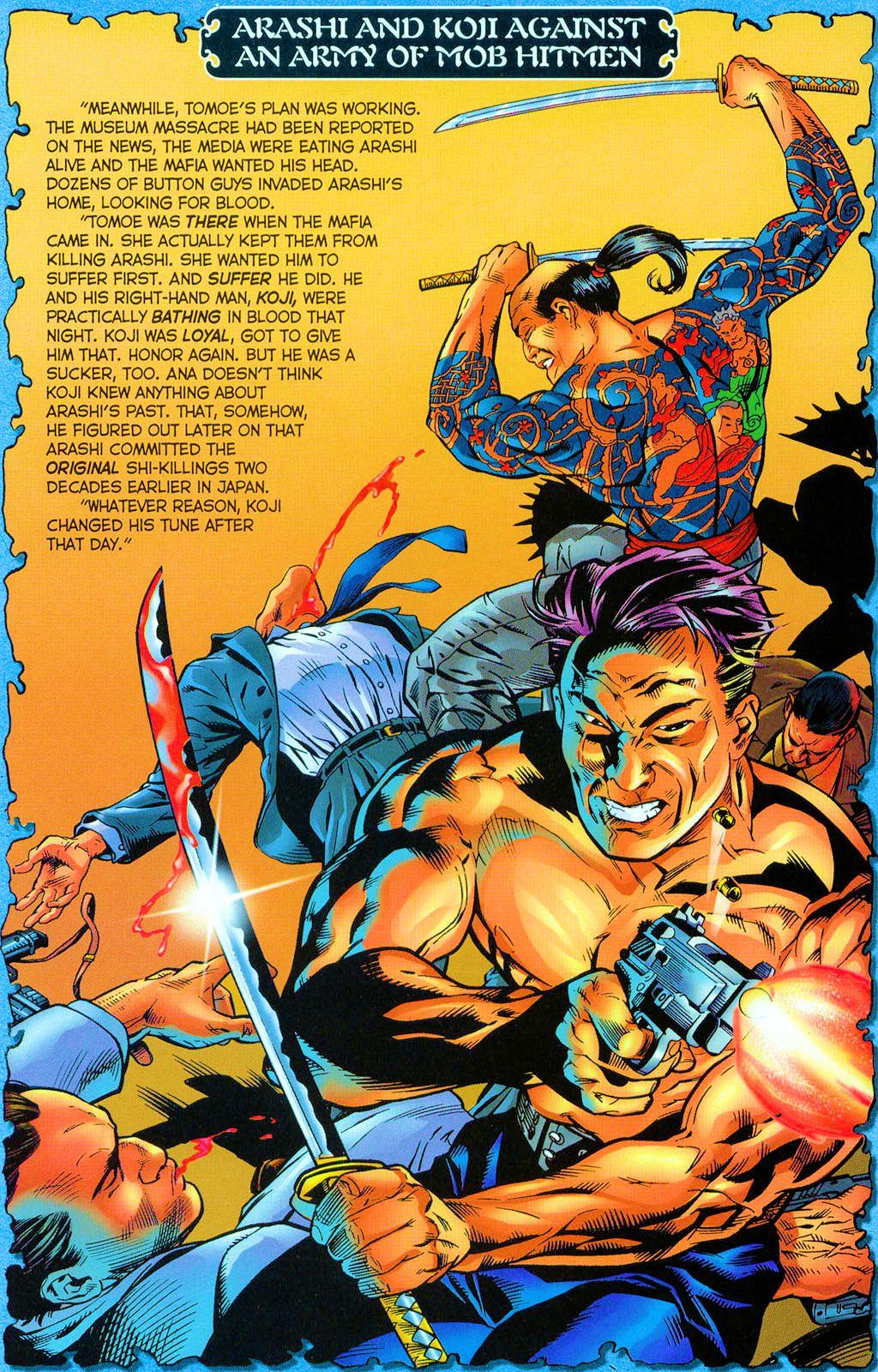 Read online Shi: Rekishi comic -  Issue #2 - 13