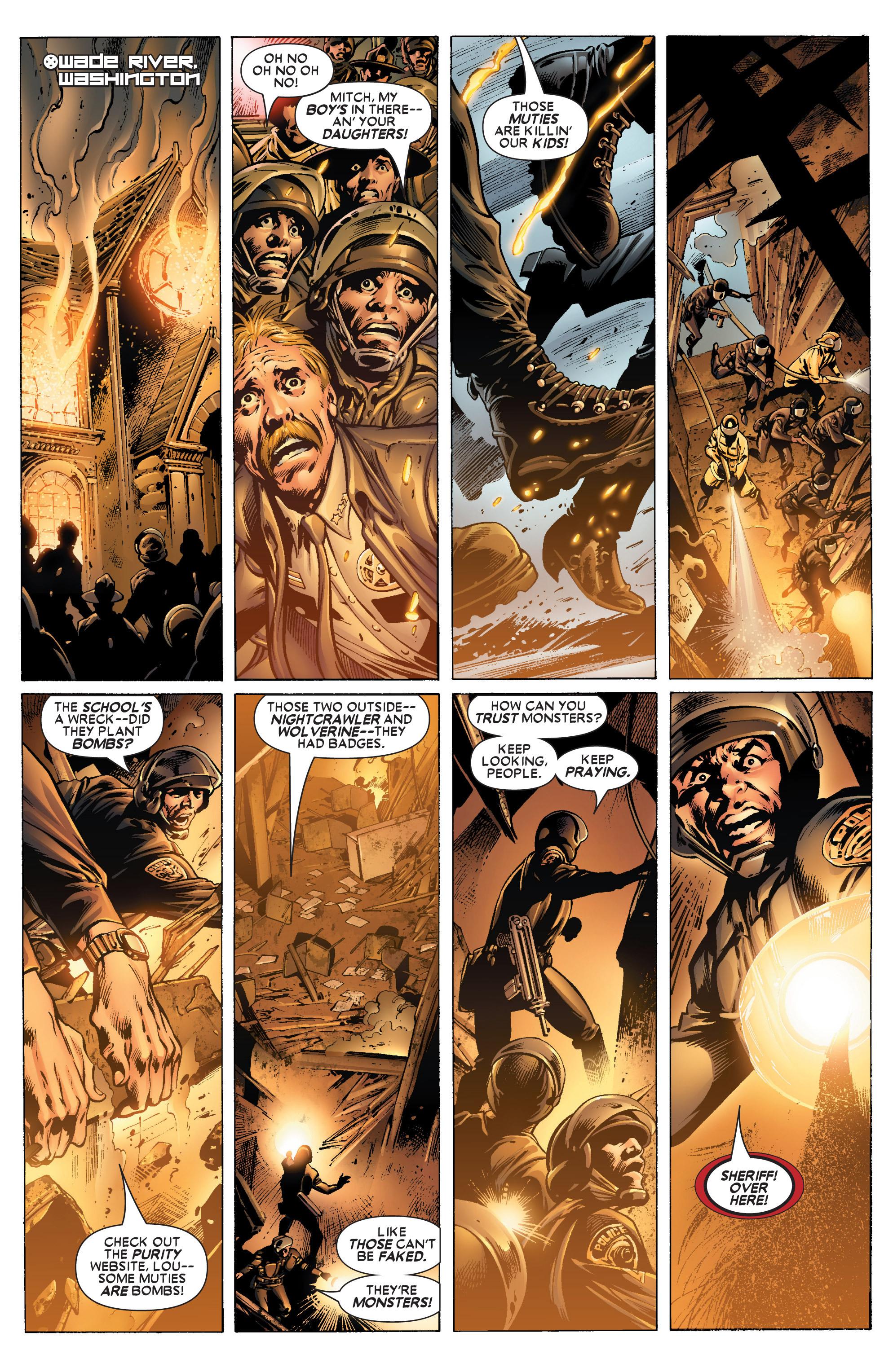 Read online Uncanny X-Men (1963) comic -  Issue #445 - 3