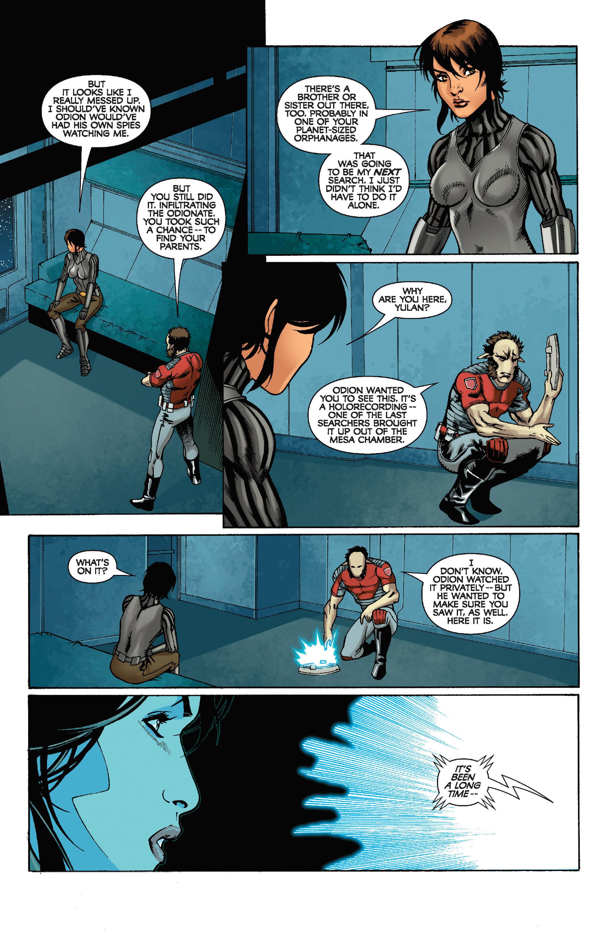 Read online Star Wars: Knight Errant - Escape comic -  Issue #4 - 19