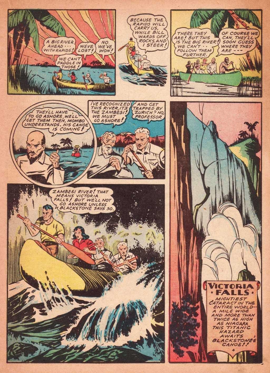 Read online Super-Magician Comics comic -  Issue #2 - 35