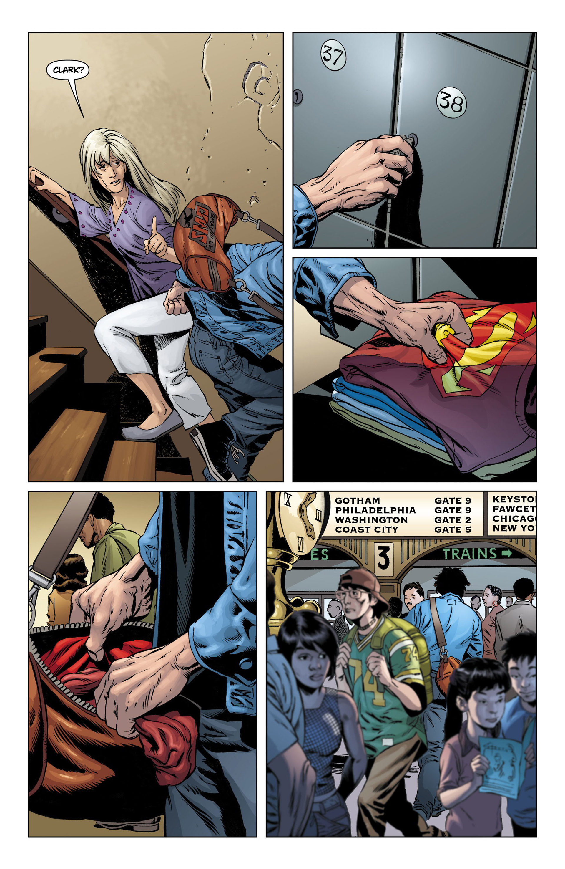 Read online Action Comics (2011) comic -  Issue #10 - 4