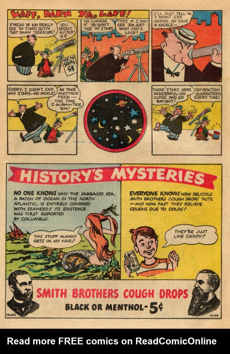 Read online Sensation (Mystery) Comics comic -  Issue #49 - 37