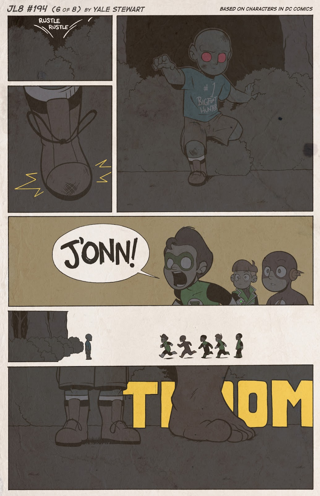 Read online JL8 – The Complete Collection comic -  Issue # TPB (Part 2) - 19