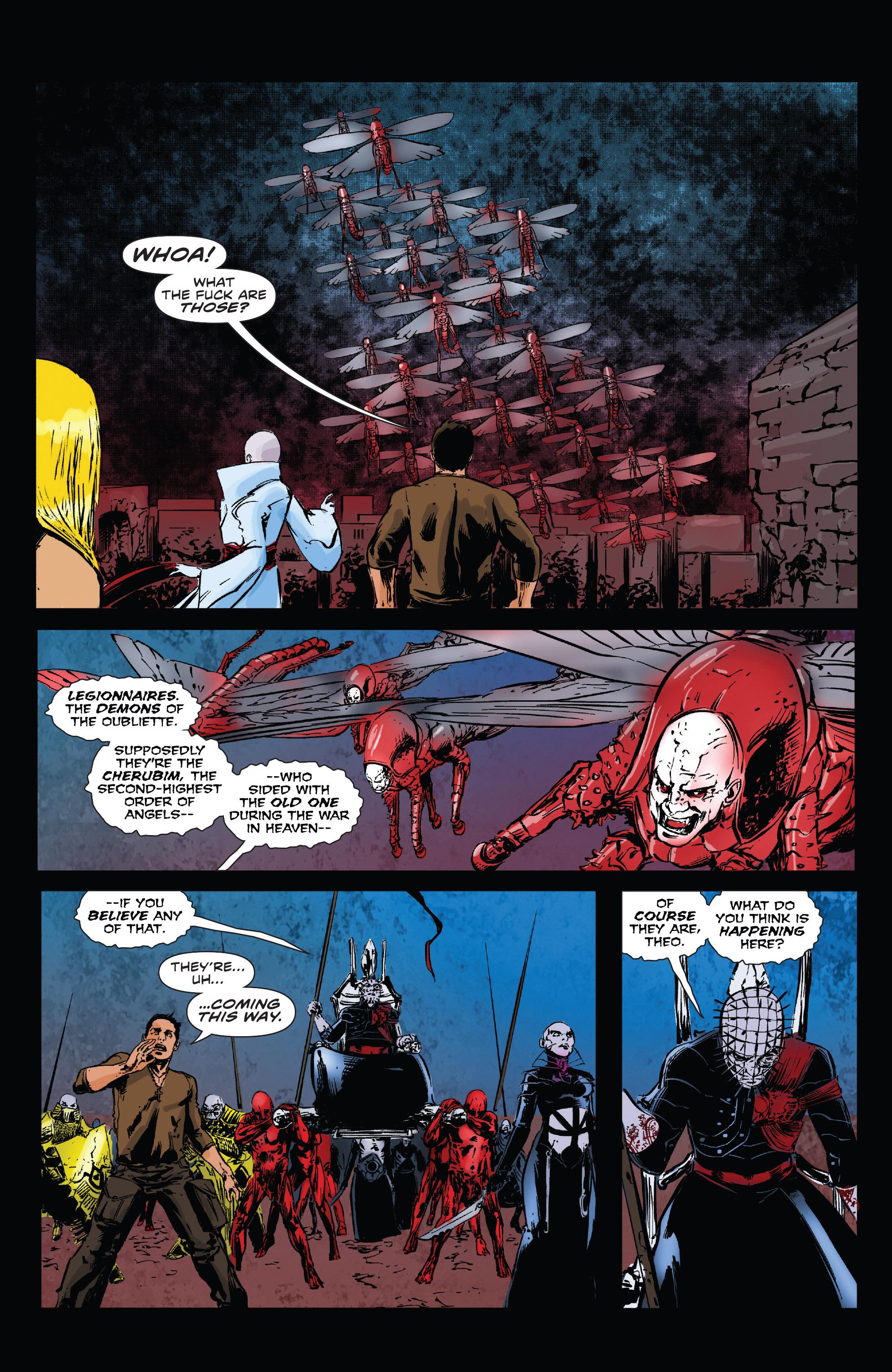 Read online Clive Barker's Hellraiser: The Dark Watch comic -  Issue # TPB 3 - 47