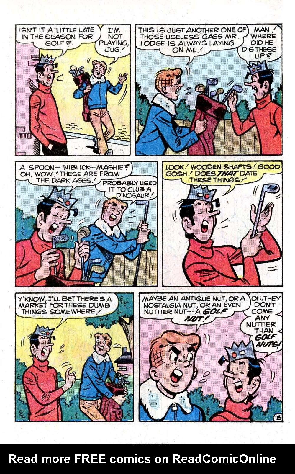 Read online Archie (1960) comic -  Issue #261 - 5
