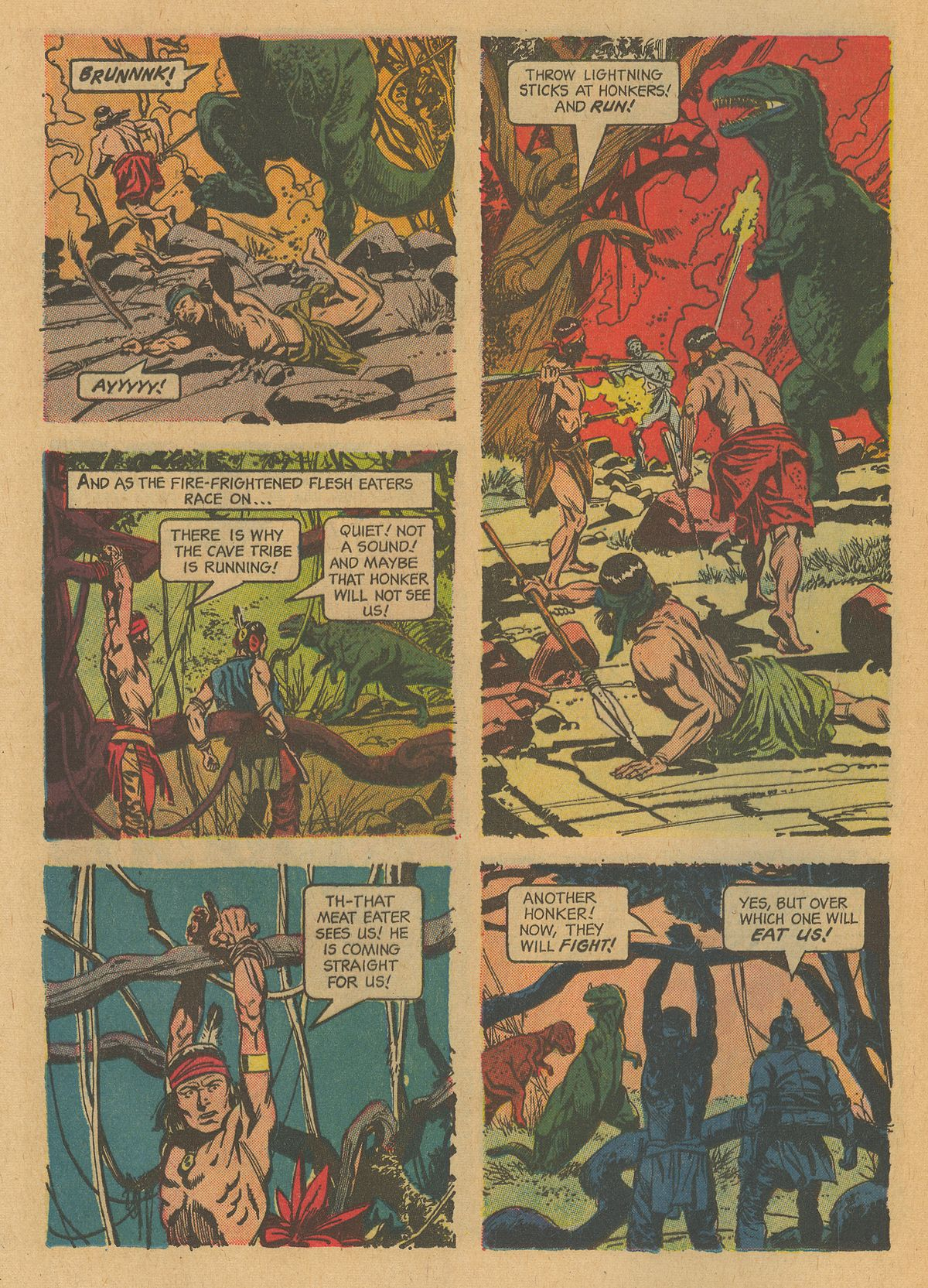 Read online Turok, Son of Stone comic -  Issue #32 - 12