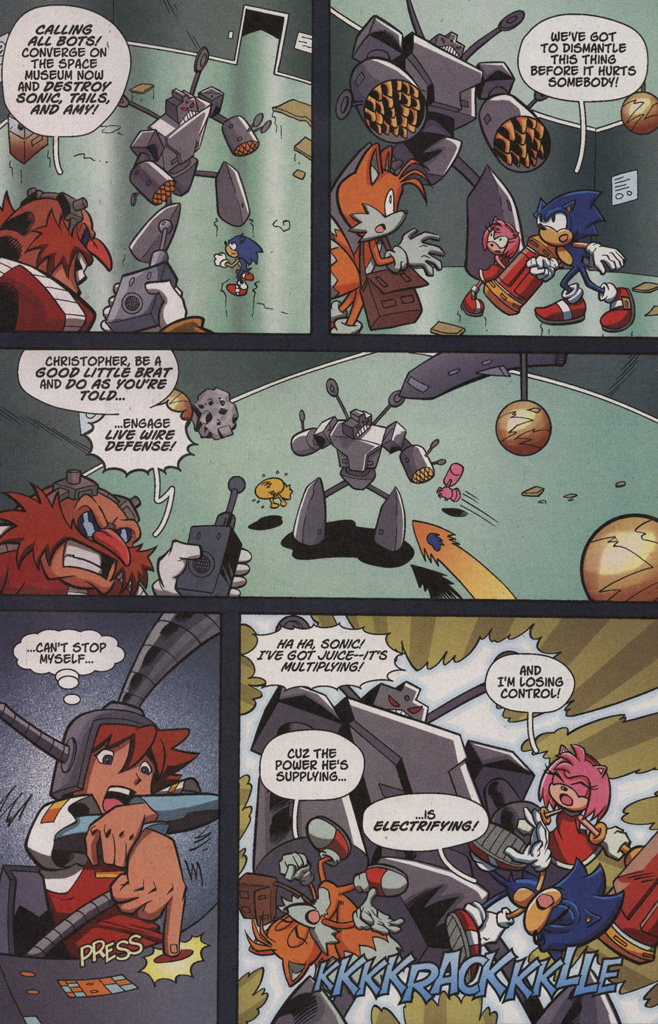 Read online Sonic X comic -  Issue #4 - 7