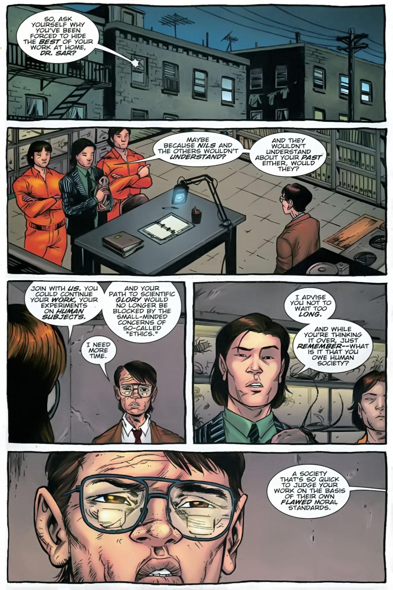 Read online The Exterminators comic -  Issue #28 - 6